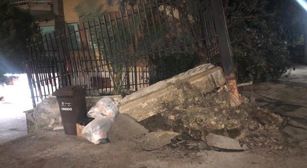 Ascoli, la tempesta di vento non concede tregua: alberi caduti e strade interrotte