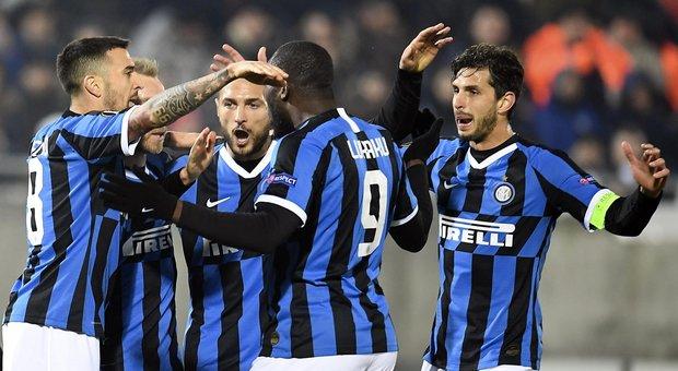 Eriksen e Lukaku dal dischetto: l'Inter passa in casa del Ludogorets 2-0