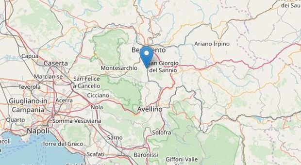 Terremoto, due scosse fino a magnitudo 2.9 nella notte a Benevento