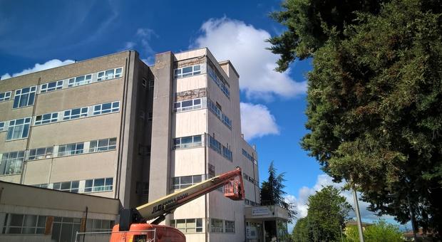L'ospedale di Amandola