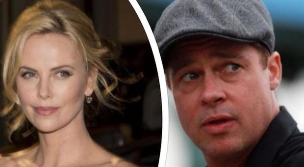 Brad Pitt e Charlize Theron, è nato l'amore? L'attore dimentica Angelina Jolie