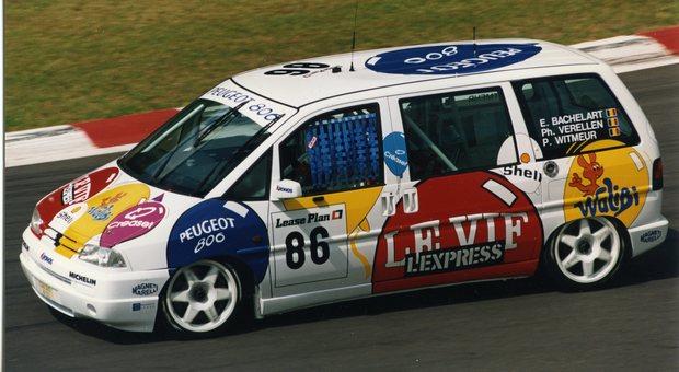 La Peugeot 806 alla 24 Ore di Spa Francorchamps