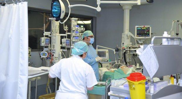 Medici anestesisti al lavoro