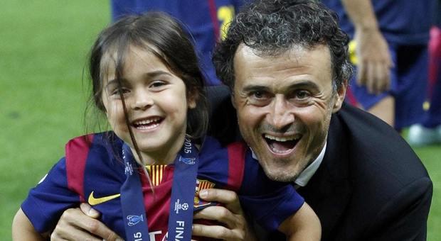 Luis Enrique, da Francesco Totti a CR7 dolore infinito per la morte della figlioletta Xana