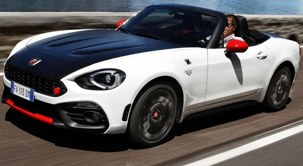 abarth 124 spider bella e cattiva lo scorpione punge. Black Bedroom Furniture Sets. Home Design Ideas