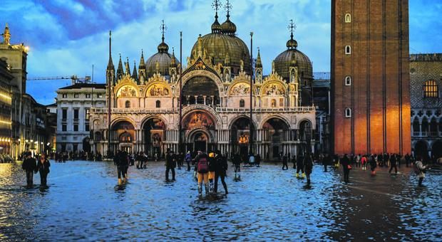 Acqua alta a Venezia: progetto da 30 milioni per salvare San Marco