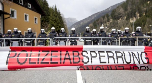 La chiusura temporanea del valico con l'Austria
