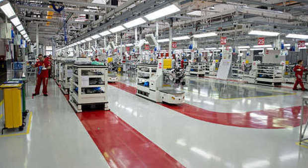 La fabbrica della Ferrari