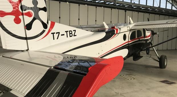 L'aereo sequestrato