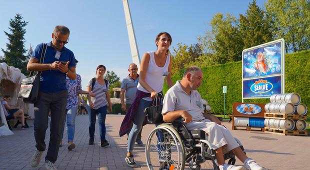 Gardaland per tutti: il parco diventa  sempre più accessibile per i disabili