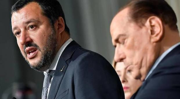 Salvini e Berlusconi sempre più lontani. Il Cav si smarca: «Italia regalata alla sinistra»