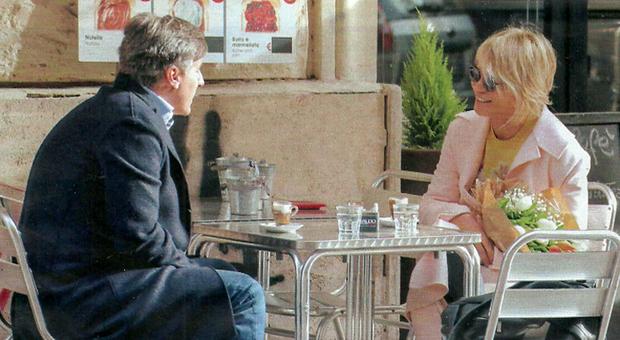 Maria De Filippi col produttore Roberto Maltoni (Chi)