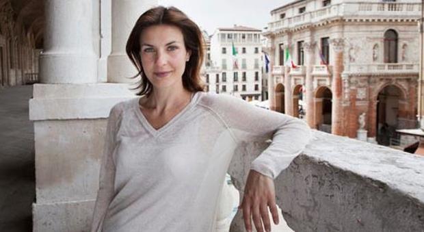 Alessandra Moretti fotografata a Vicenza