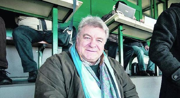 Elio De Anna, 70 anni, ex ala del Rovigo e della Nazionale, candidato alla FIR
