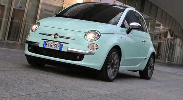 La Fiat 500 Cult esposta al salone di Ginevra