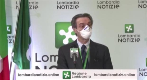 , Fontana: «Contagi aumentati Mesto, SONO preoccupato» thumbnail