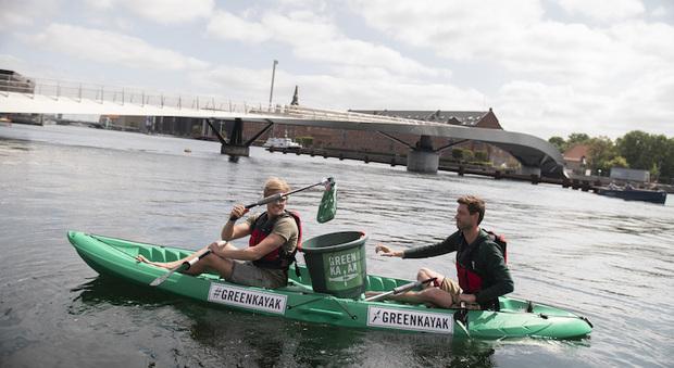 Greenkayak a Copenaghen