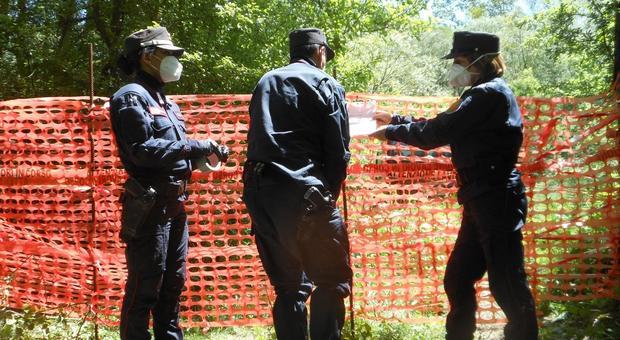 Carsoli, discarica abusiva di 5mila metri quadrati sequestrata da Carabinieri Forestali