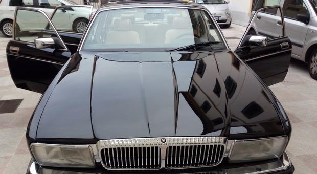 la Jaguar Daimpler venduta all'asta