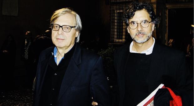 Vittorio Sgarbi e Stefano Ciotti