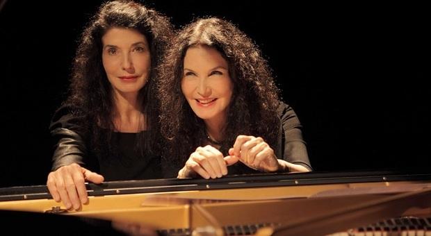 Le sorelle Labèque, duo pianistico di fama internazionale in concerto a Santa Cecilia dal 21 al 23 marzo