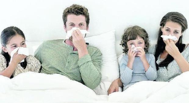 Influenza, 4 virus ma poco aggressivi: previsti 5 milioni di malati