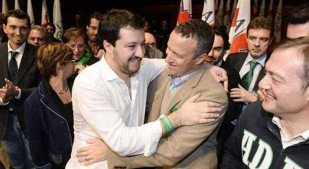 Matteo Salvini e Flavio Tosi