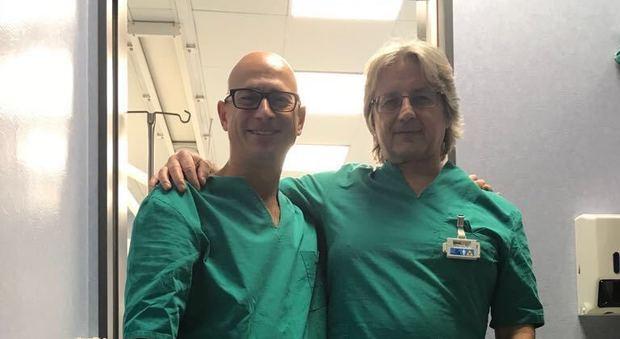 A Roma la prima angioplastica eseguita dalla mano