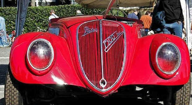 Fiat 1500 6 cilindri spider Fine anni Trenta ph David La Pietra