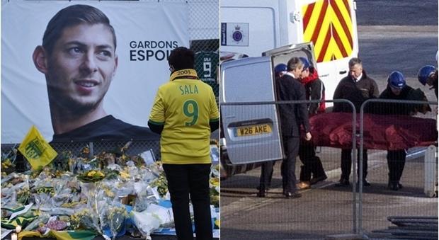 Emiliano Sala, la conferma della polizia: il corpo trovato nell'aereo è il suo