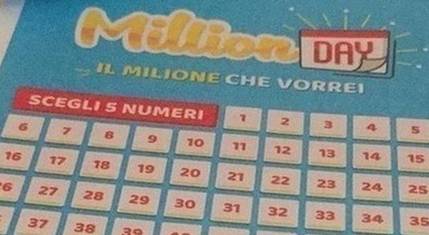 Million Day, i numeri vincenti di oggi venerdì 15 novembre 2019