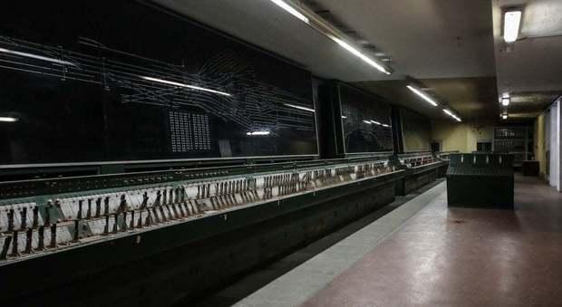 Il bunker della Stazione Termini