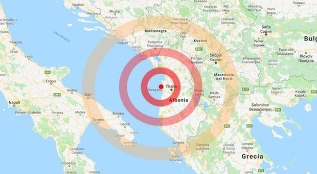 Terremoto in Albania, scossa di magnitudo 5,2: crolli e panico nelle strade