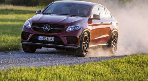 La nuova Mercedes GLE in versione Coupe'