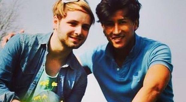 Vincenzo e il suo compagno colombiano Beto