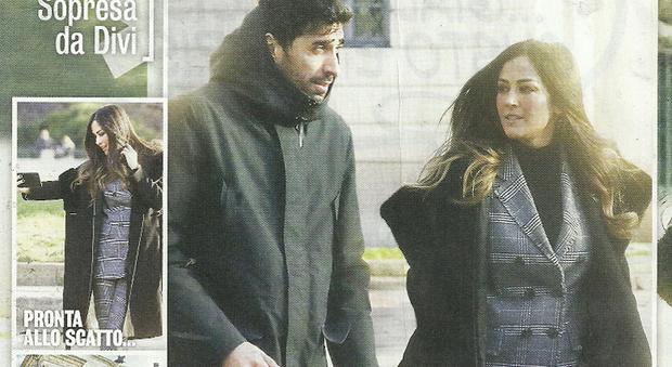 Filippo Magnini e Giorgia Palmas col pancino sospetto (Diva e donna)
