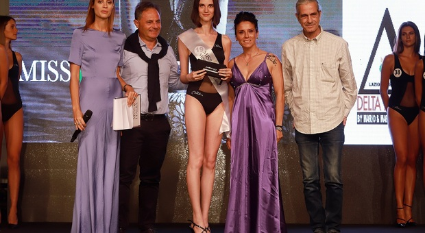 Francesca Luna eletta Miss Eleganza Lazio