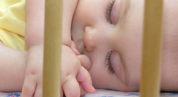 Un bimbo dovrebbe sempre riposare tranquillo Foto Quimamme
