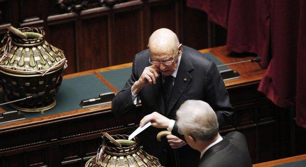 Napolitano apre la legislatura: essenziale il rispetto della volontà popolare, fiducia in Mattarella