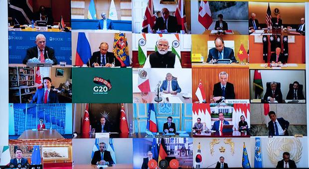 Coronavirus, Oms al G20: «Il virus può distruggerci, restiamo uniti»