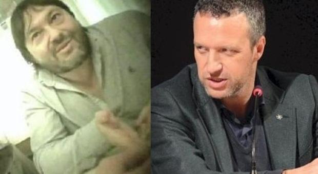 Sigfrido Ranucci, inviato di Report, e il sindaco Flavio Tosi