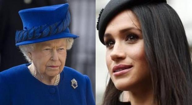 «La regina Elisabetta sta male?». Il gesto di Meghan Markle che fa spaventare i sudditi