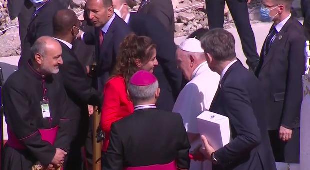 Papa nella città martire Mosul e ringrazia il Kurdistan per aver difeso i cristiani dall'Isis