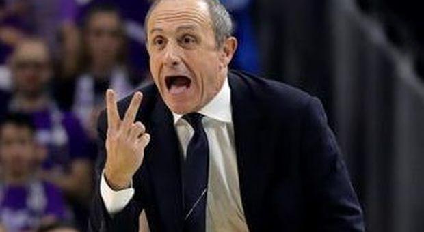 Ettore Messina, coach dell'AX Armani Olimpia Milano