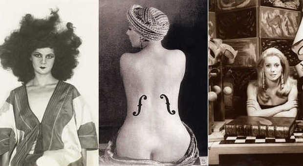 Tre ritratti di Man Ray: Helen Tamiris, Le Violon d'Ingres e Catherine Deneuve
