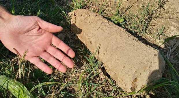 Bomba ancora attiva scoperta da un escursionista: alta carica esplosiva, caricata con fosforo bianco