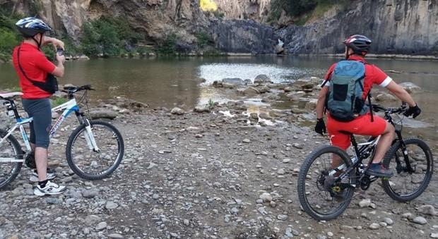 Sui passi degli etruschi, a Tarquinia il primo reality in bicicletta