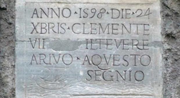 Bildresultat för alluvione tevere 1598