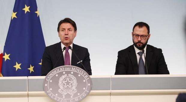 Il ministro per il Sud Giuseppe Luciano Calogero Provenzano arriva a Palazzo  Chigi per l'incontro con vertici di ArcelorMittal