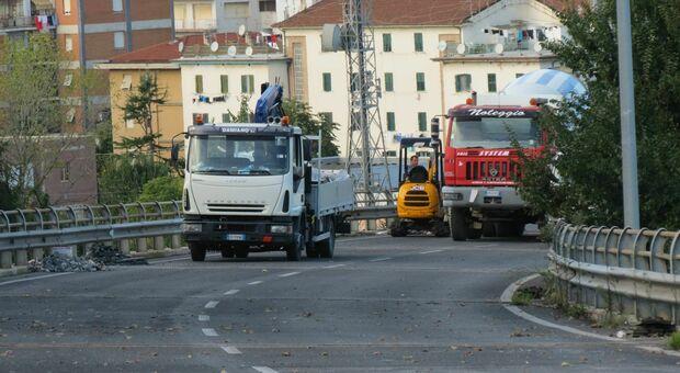 Stop ai camion sull'Asse: controlli dei vigili urbani